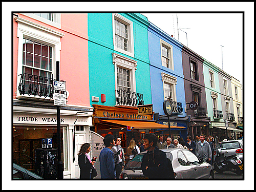 El Mercado Portobello en Notting Hill