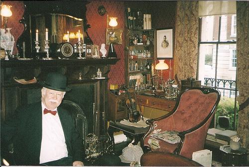 La casa de sherlock holmes museo en londres - Casa de sherlock holmes ...