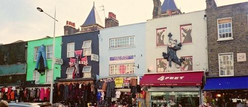Barrio Camden en Londres