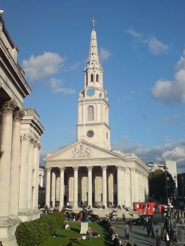 Iglesia St. Martin in-the-Fields, arte y música