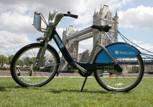 Bicicletas públicas en Londres