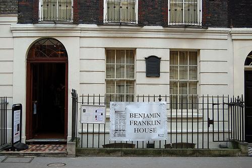 Casa de Benjamin Frankin