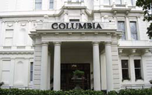 Hotel Columbia, elegancia victoriana en Londres