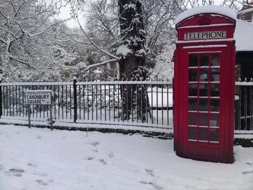 Londres en invierno y en verano