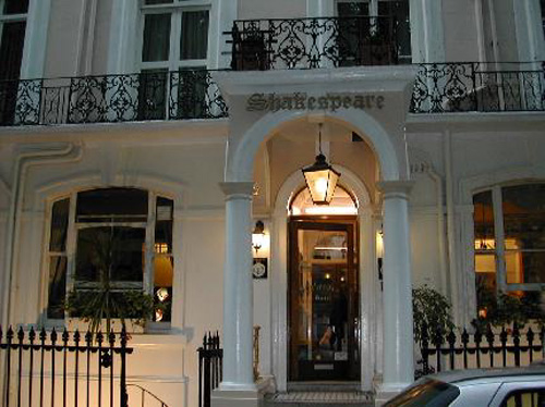 Hotel Shakespeare, en la zona de Paddington