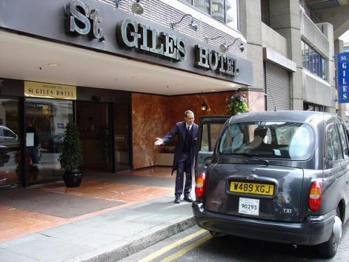 Hotel St. Giles, en el centro de Londres