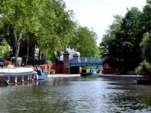 Canal Regent en la Pequeña Venecia