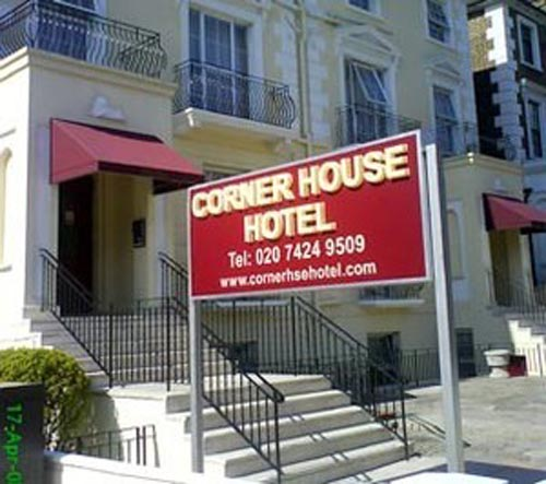 Hotel Corner House, en la zona de Camden