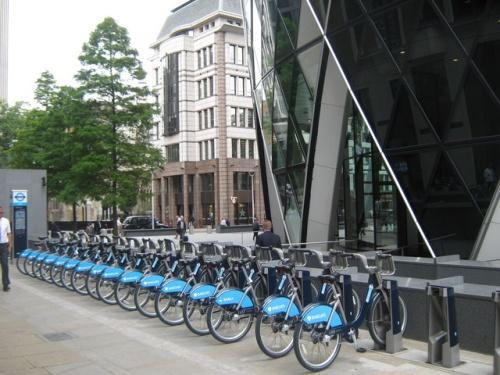 Londres en bicicleta
