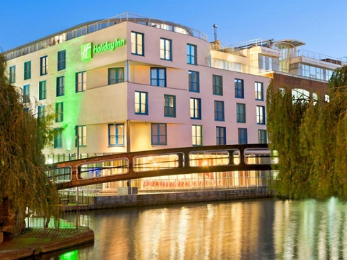 Holiday Inn London Camden Lock, un hotel de categoría en pleno Camden