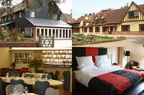 Hotel Great Hallingbury Manor, lujo ecológico en Londres