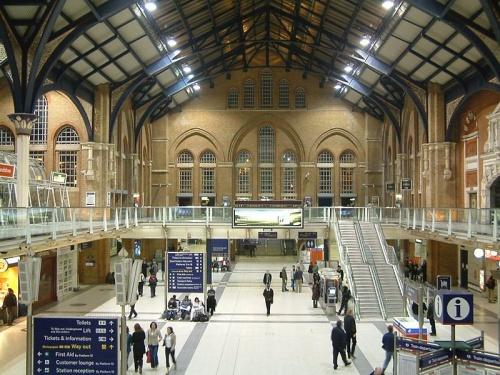 La estación Liverpool Street, centro neurálgico de Londres