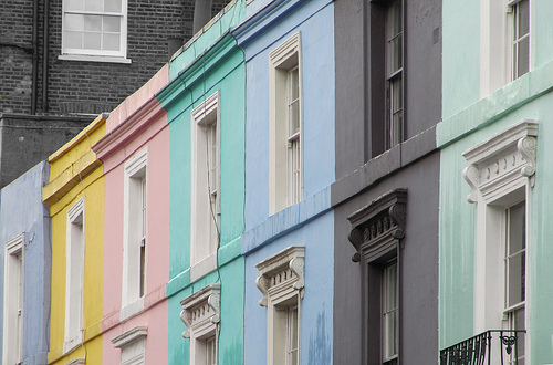 El popular barrio de Notting Hill y sus atractivos