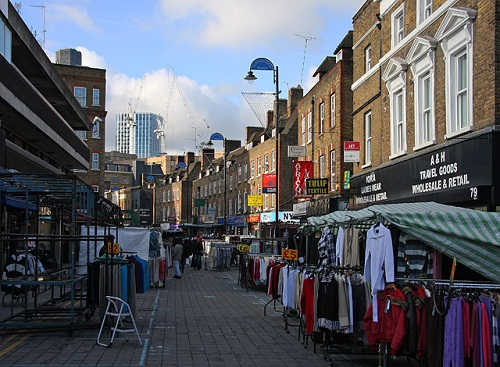 El mercado de Petticoat Lane: compras y algo más
