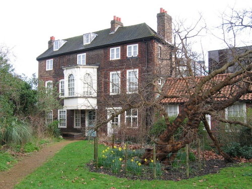 Visitando la casa museo de William Hogarth, en Hounslow